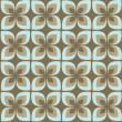 Vector abstract flower pattern background — Image vectorielle