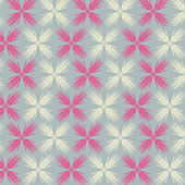 Vector abstract flower pattern background — Stock Vector