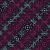 抽象的な花パターンのベクトルの背景 — ストックベクタ