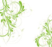 Vector flores creativo decorativo abstact — Vector de stock