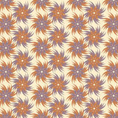 Padrão de fundo Vector flor abstrato — Vetor de Stock