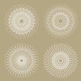 набор векторных декоративных элементов — Cтоковый вектор
