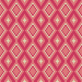 Seamless vector knitted background — Stock Vector