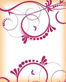 Abstract vector swirl background — Stock Vector