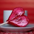 Heart shaped lollipop — Stock Photo #1657712