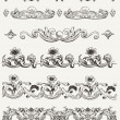 Royalty-Free Stock Vector Image: Set Of Original Vintage Calligraphic Design Elements