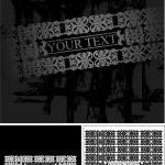 Grunge Ornate Banner — Stock Vector #45919991