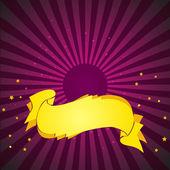 Deep Purple Background — Stock Vector