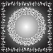 Circle And Quad Ornament Frames. — Stock Vector