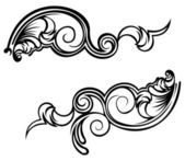 Ornate Curves. — Stock Vector
