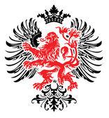 Heraldry Ornate Banner — Stock Vector