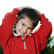 Cute little kid in nature — Stock Photo #10419244