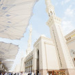 Islamic Holy Mosque at Madina - Stock Photo