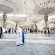 Islamic Holy Mosque at Madina — Stock Photo