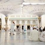 Islamic Holy Mosque at Madina — Stock Photo