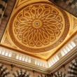 Makkah Kaaba mosque indoors pillars decoration — Stockfoto