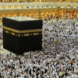 Makkah Kaaba Hajj Muslims — Stock Photo #12180176