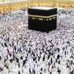 Makkah Kaaba Hajj Muslims — Stock Photo #12180195