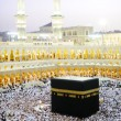 Makkah Kaaba Hajj Muslims — Stock Photo #12180196