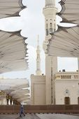 Al Madina mosque — Stock Photo