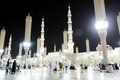 Medina Mosque at night — Stock Photo