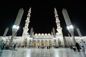 Madina Mosque at night — Stock Photo