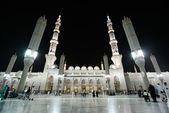 Madina Mosque at night — Stock Photo
