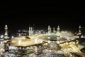 Mesquita sagrada de meca kaaba — Foto Stock