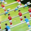 Soccer football game table — Stock Photo