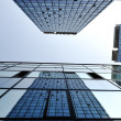 Modern glass buildings — Stockfoto