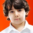Closeup portrait of kid — Stock Photo #13335491