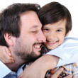 Father and son — Stock Photo #13335590
