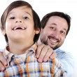 Father and son — Stock Photo #13335594