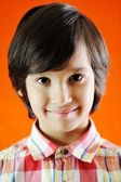 Closeup portrait of kid — Stock Photo