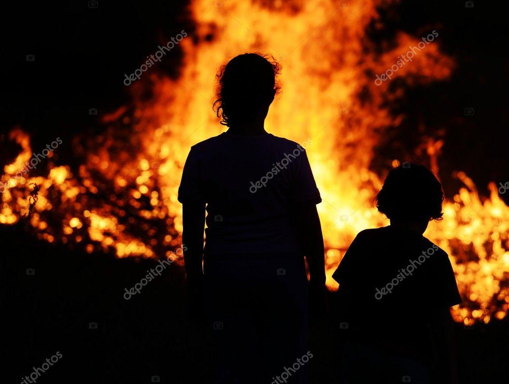 Фото пожаров с детьми