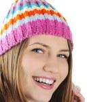 Happy Winter Beautiful Girl — Stock Photo