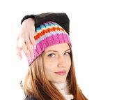 Happy Winter Beautiful Girl — Stock fotografie