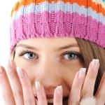 Happy Winter Beautiful Girl — Stock Photo #21341801