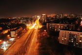 Berlin in Germany at night — Stock Photo