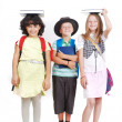 School kids — Stock Photo