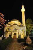 An a beautiful nice mosque — Stock Photo