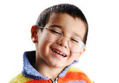 Very positive kid — Stock Photo