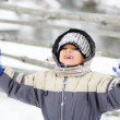 Child in snow — Stock Photo #21421079