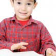 Muslim Child Reading Qur'an  — Stock Photo