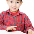 Stock Photo: Muslim Child Reading Qur'an