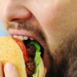 Burger, fast food — Stock Photo