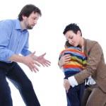 Family fighting — Stock Photo