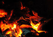 Beautiful fire — Stock Photo