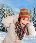 Winter happiness — Stock Photo