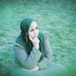 Muslim woman — Stock Photo